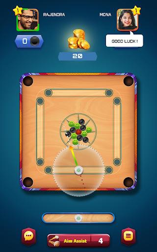 Carrom Friends : Carrom Board Game  captures d'écran 1