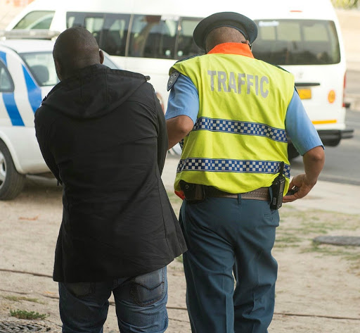 3,336 taxi drivers arrested in blitz on road hogs in Cape Town