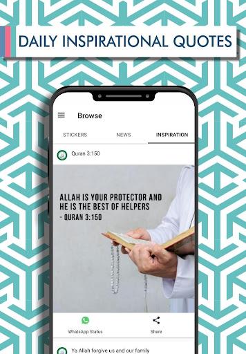 Islamic Stickers 2020 - WAStickerApps 2.1.9.4 screenshots 6