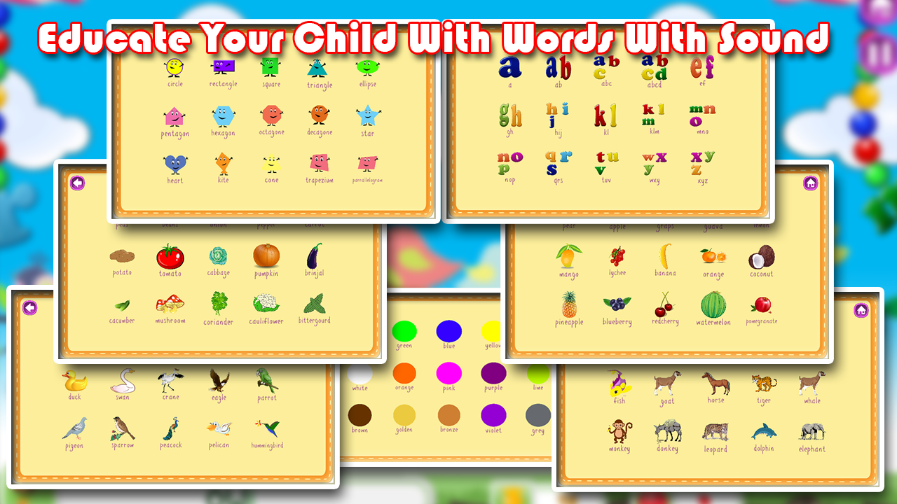 Worksheets Learning Syllabus  For Nursery Charts kindergarten nursery school android apps on google play screenshot
