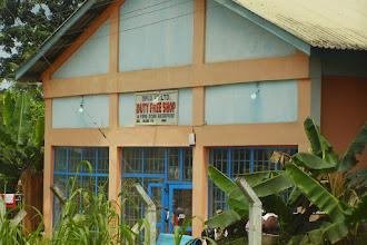 Photo: Duty free shops in the Ghanaian borders