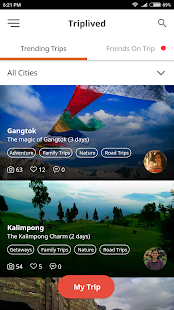 TripLived: Travel Diary | Discover Trips- screenshot thumbnail