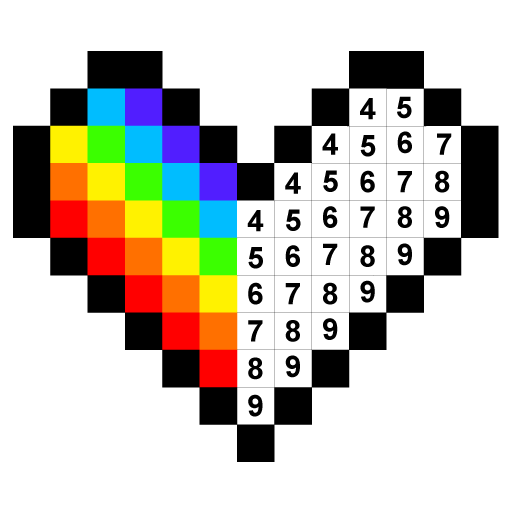 Colors by Number ® - No.Draw Icon