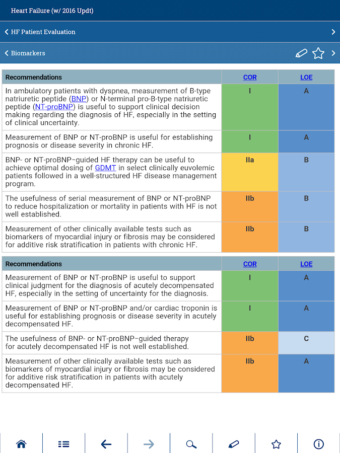 ACC Guideline Clinical App- screenshot