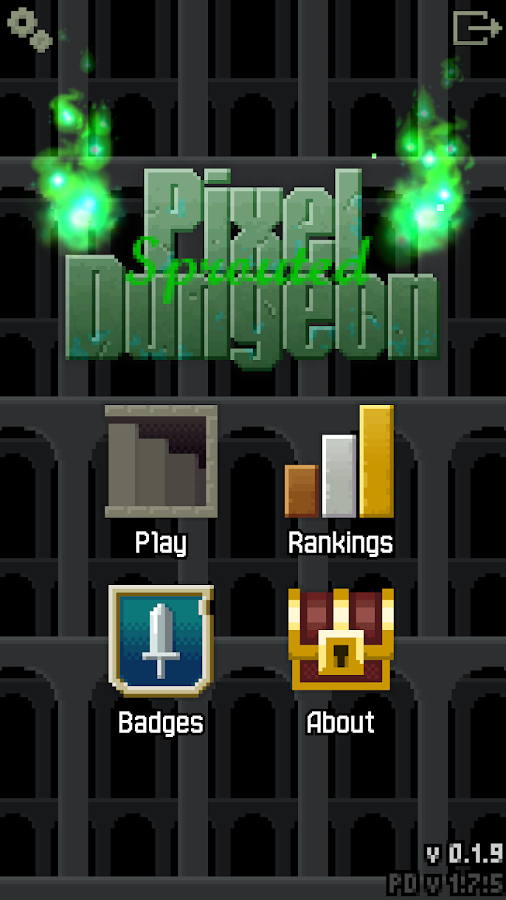Sprouted Pixel Dungeon – Screenshot