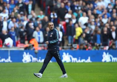 En colère, Sarri quitte l'entraînement de Chelsea la veille de la finale de l'Europa League contre Arsenal (Vidéo)