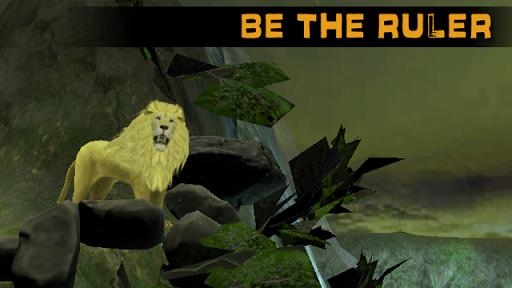 ライオン攻撃シミュレータ3D