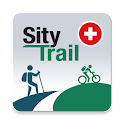 SityTrail Switzerland - hiking icon