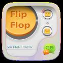 (FREE) GO SMS FLIPFLOP THEME icon