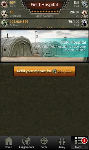 War Game - Combat Strategy Online 4.1.0 screenshots 5