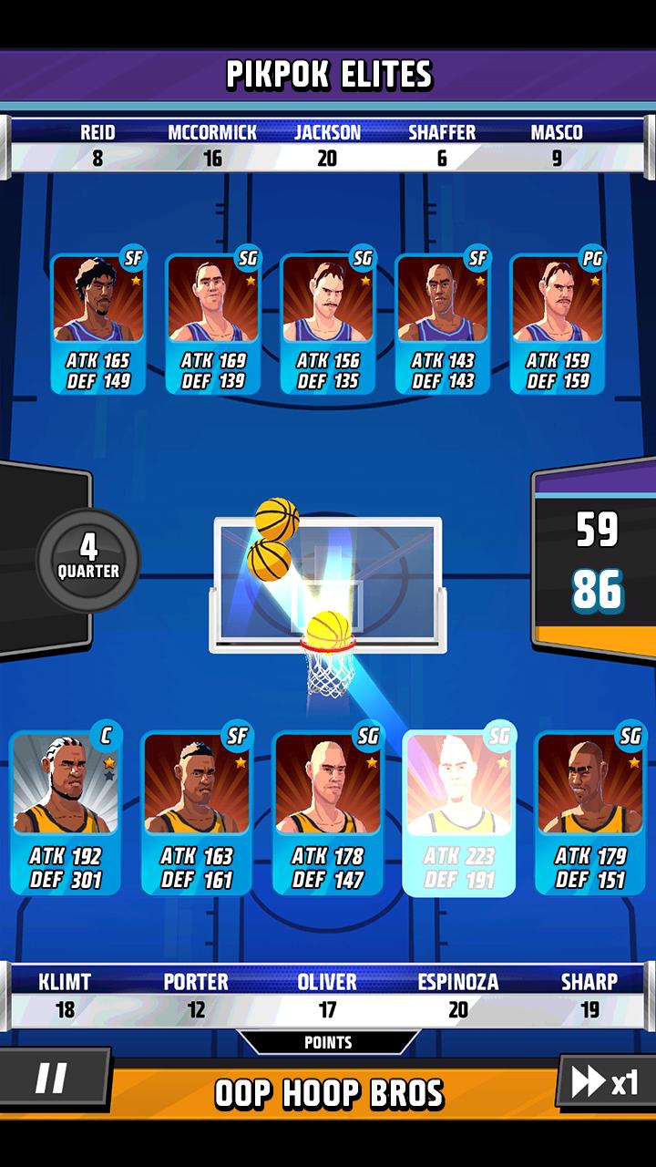 Rival Stars Basketball screenshot #2