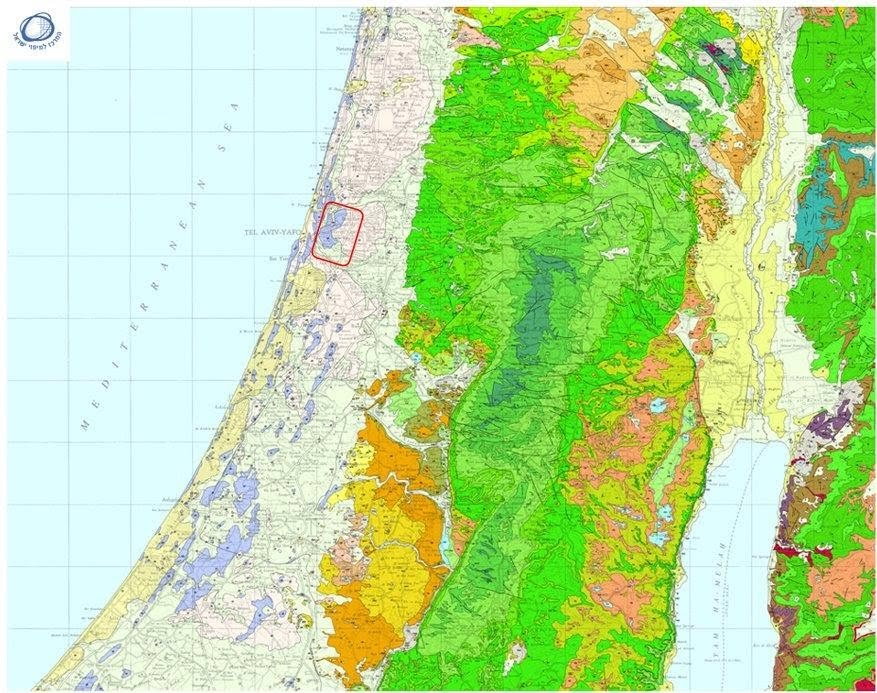 תוספת רמת גן, שכונות, גנים ואתרים לאורכה ולרוחבה של העיר - עמירם במשעולי BA-54