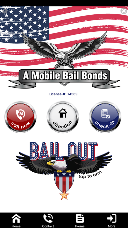 A Mobile Bail Bonds- screenshot