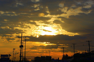 Photo: 32 ... A sunrise on the way to work