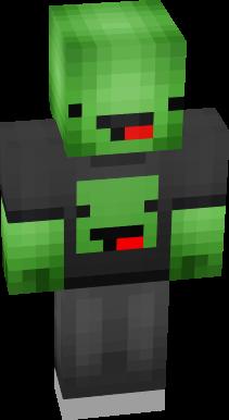 a green derp turtle