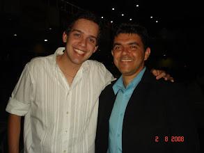 Photo: Eu e o amigo Lucas Carneiro que veio de Uberlândia-MG só pra curtir o show.