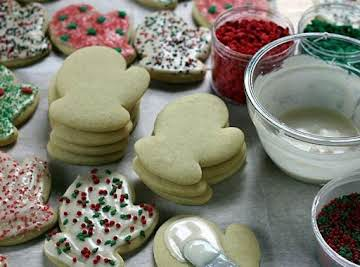 Awesome Sour Cream Sugar Cookies with Frosting