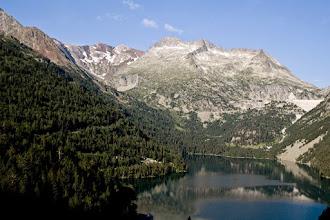 Photo: Néouvielle:  llac d'Orédon i pics d'Estaragne i Campbieil