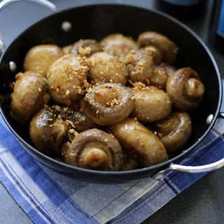 Spanish Garlic Mushroom Tapas [Vegan, Gluten-Free].