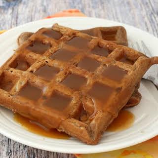 Easy Chocolate Waffles.