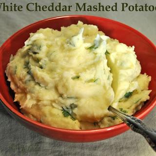 White Cheddar Mashed Potatoes.