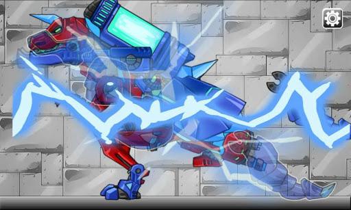 Dino Robot- Tyranno + Tricera2 1.2.1 screenshots 3