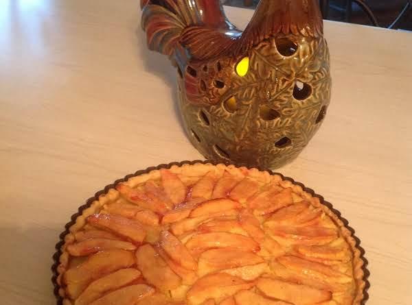 Autumn Apple Custard Tart Recipe