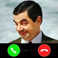 Video call Mr Bean joke apk
