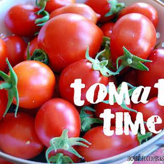 Bruschetta – Tomato Time.