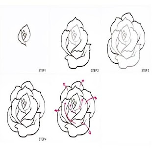 How to draw roses android apps on google play how to draw roses screenshot thumbnail ccuart Image collections