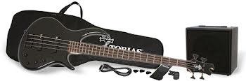 Epiphone Toby IV Bass Performance Pack - Ebony