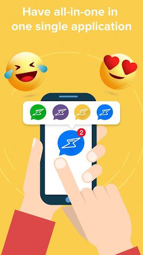 Social Messenger  - Free Mobile Calling, Live Chat 2.0 screenshots 3