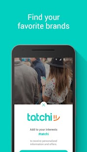 tatchi: find nearby friends- screenshot thumbnail