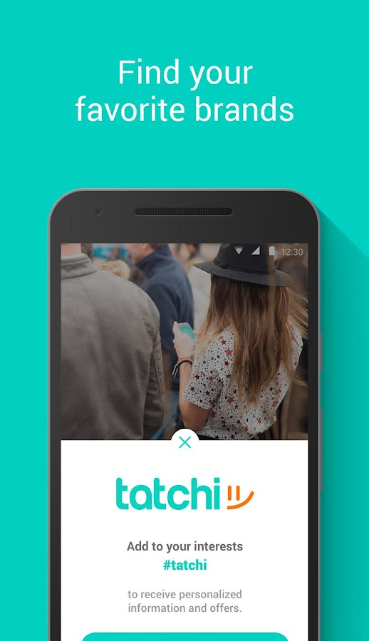 tatchi: find nearby friends- screenshot