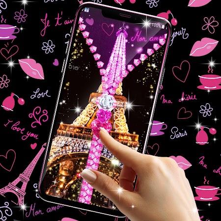 Paris zipper lock screen v6.0