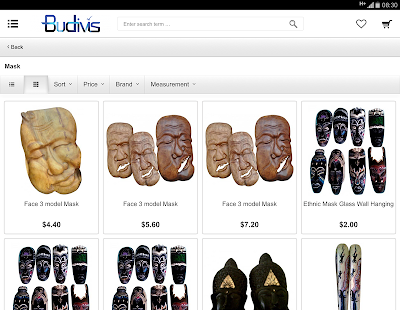 Budivis Web Store- screenshot thumbnail