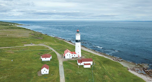 Completed in 1857, Point Amour Lighthouse keeps watch over Point Amour in southern Labrador, Canada.