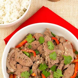 Vietnamese Garlic and Black Pepper Stir Fry Recipe
