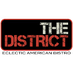 Logo for The District