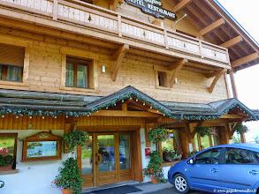"""Photo: #003-L'hôtel """"Les sapins"""" à Manigod."""
