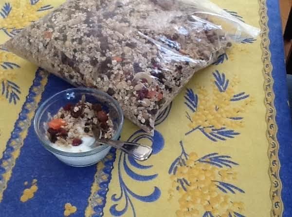 Graeme's Granola Made Fresh This Morning!
