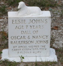 Photo: Elsie Johns daugher of Oscar Johns and Nacy Raulerson Johns