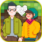 Coloring Pages: Pixel Art color by number for kids icon