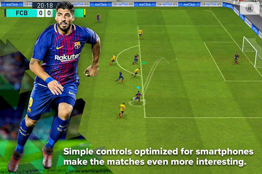 PES 2018 PRO EVOLUTION SOCCER app (apk) free download for Android/PC/Windows screenshot