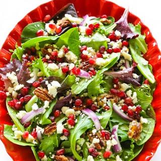 Pomegranate Feta Salad.