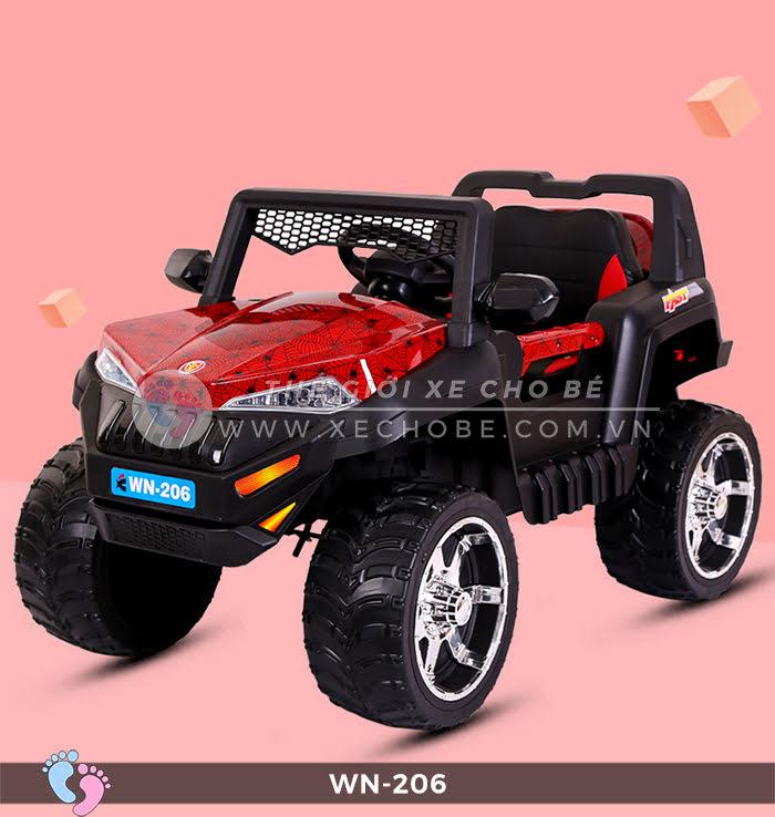 Xe ô tô điện địa hình tự lái WN-206 9
