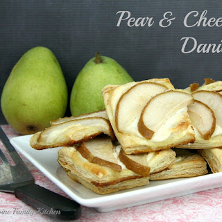 Pear & Cheese Danish