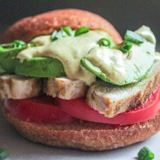 California Fusion Sandwich.