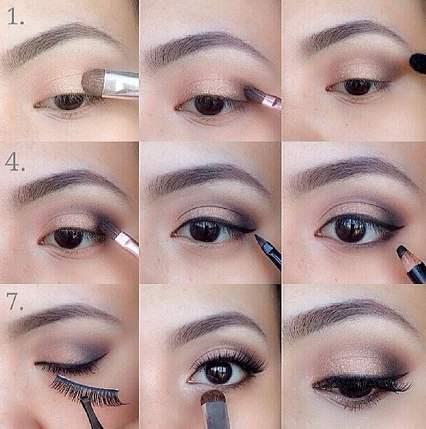 眼部卸妆教程