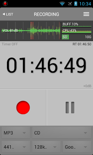 all that recorder lite screenshot 2